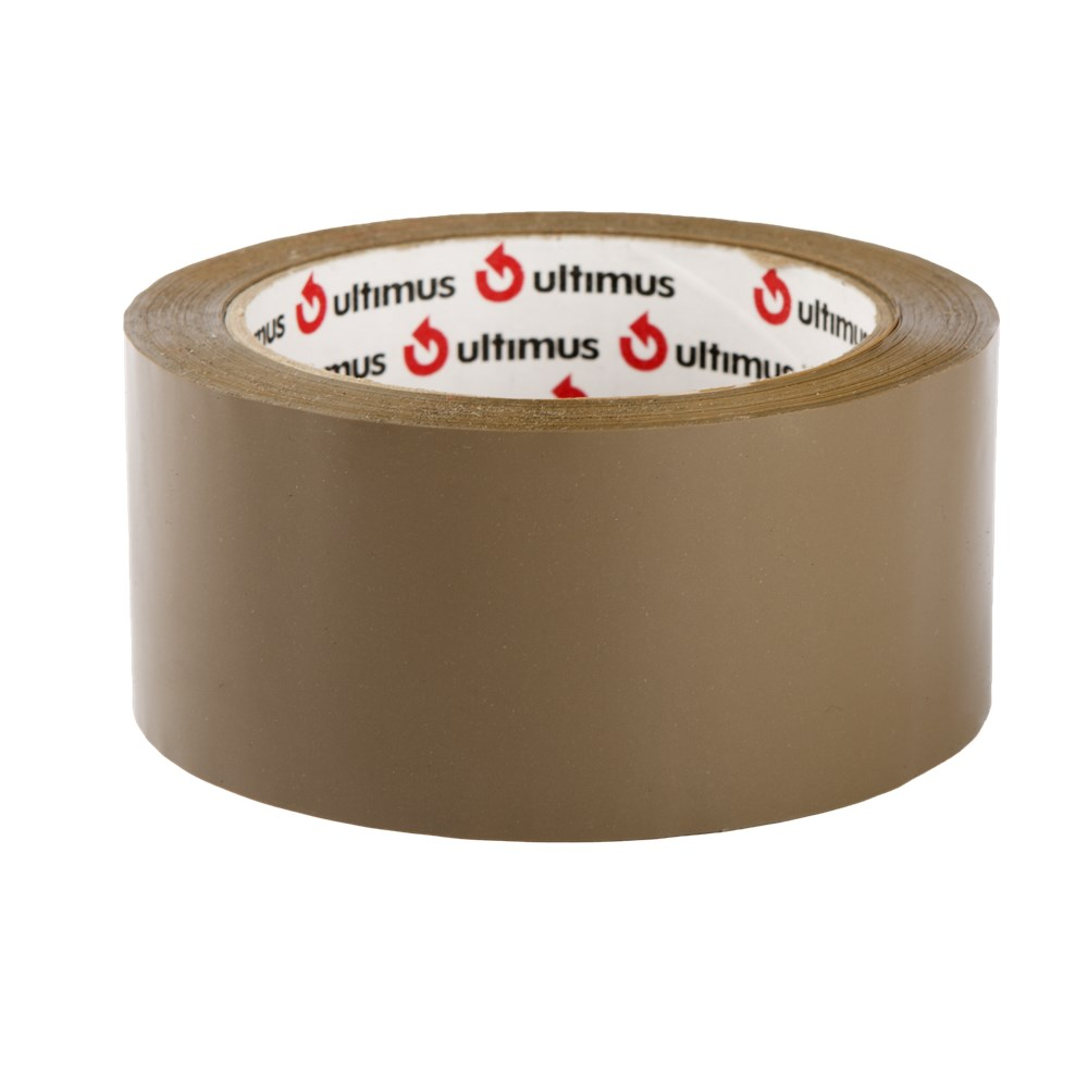 Ultimus Hot Melt Tape - Brown 48mm x 75m
