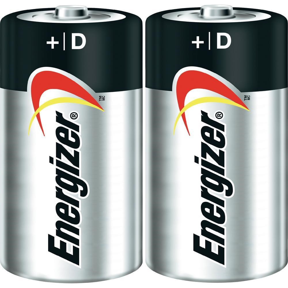 Batteries D - Energizer