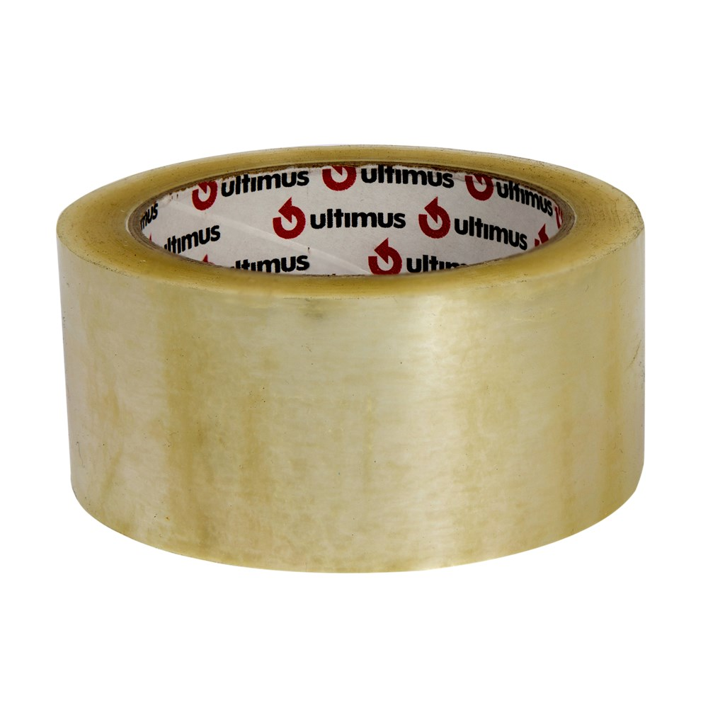 Ultimus Hot Melt Tape - Clear 48mm x 75m