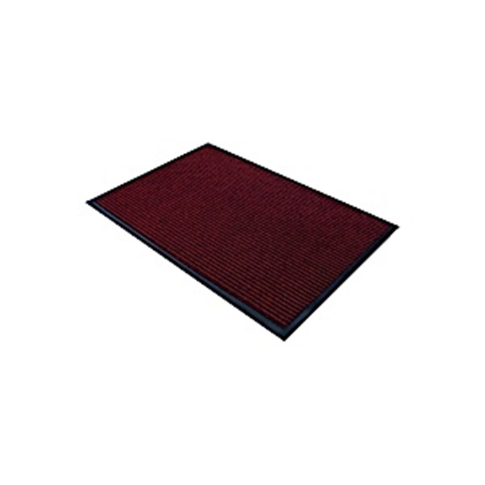 Ribbed Entrance Mat - Red 600 x 900mm
