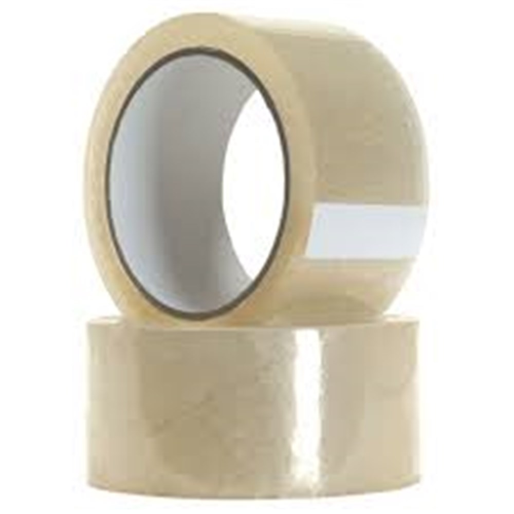 Acrylic Tape - Clear 48mm x 75m