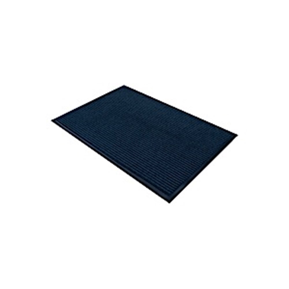 Ribbed Entrance Mat - Blue 600 x 900mm