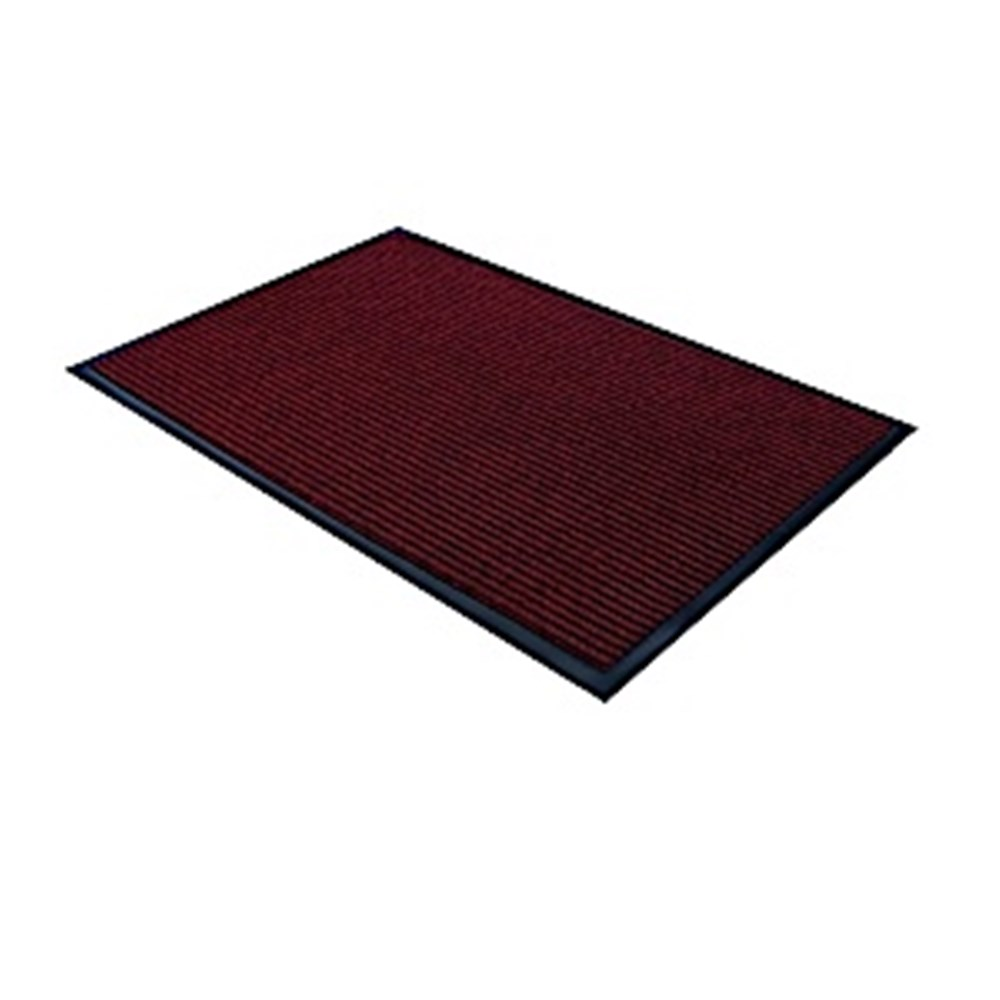 Ribbed Entrance Mat - Red 900 x 1500mm
