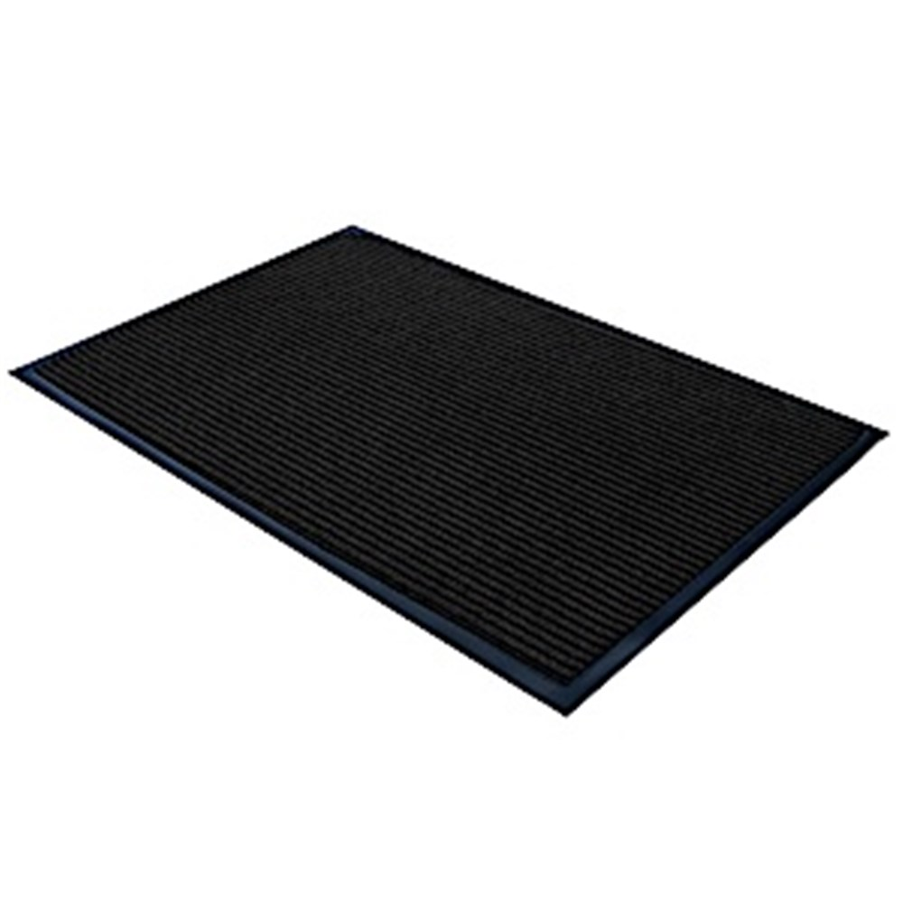Ribbed Entrance Mat - Pepper 1200 x 1800mm