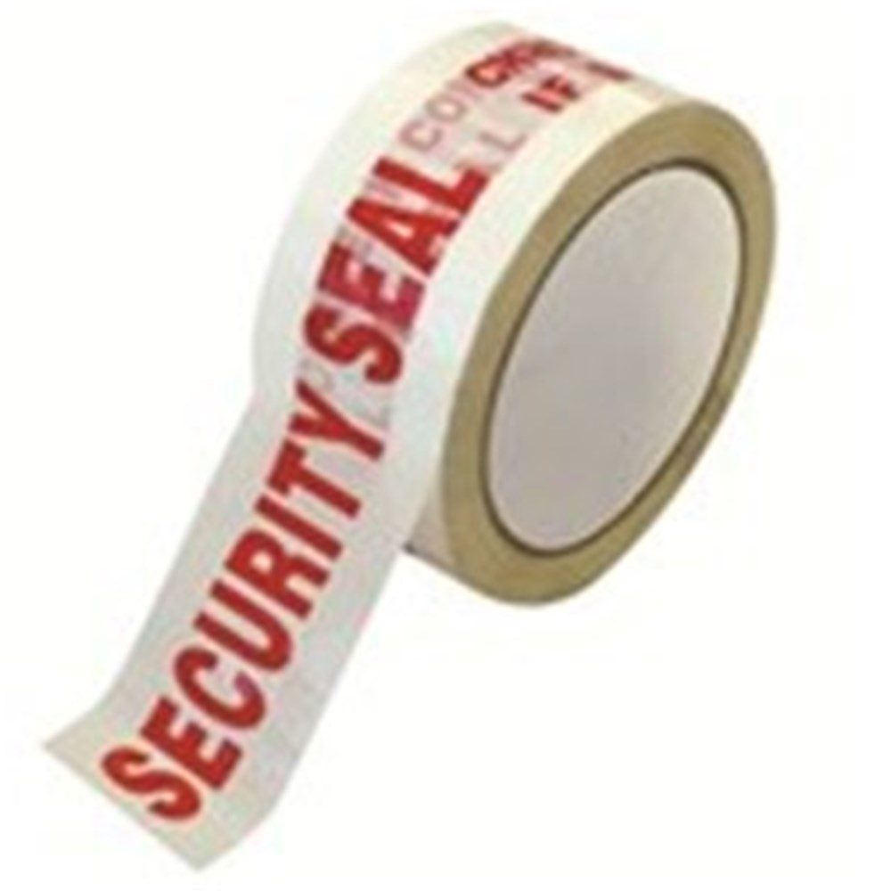 Warning Tape - Security Seal 50mm x 100m